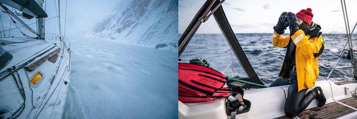 Buscando cachalotes en Noruega