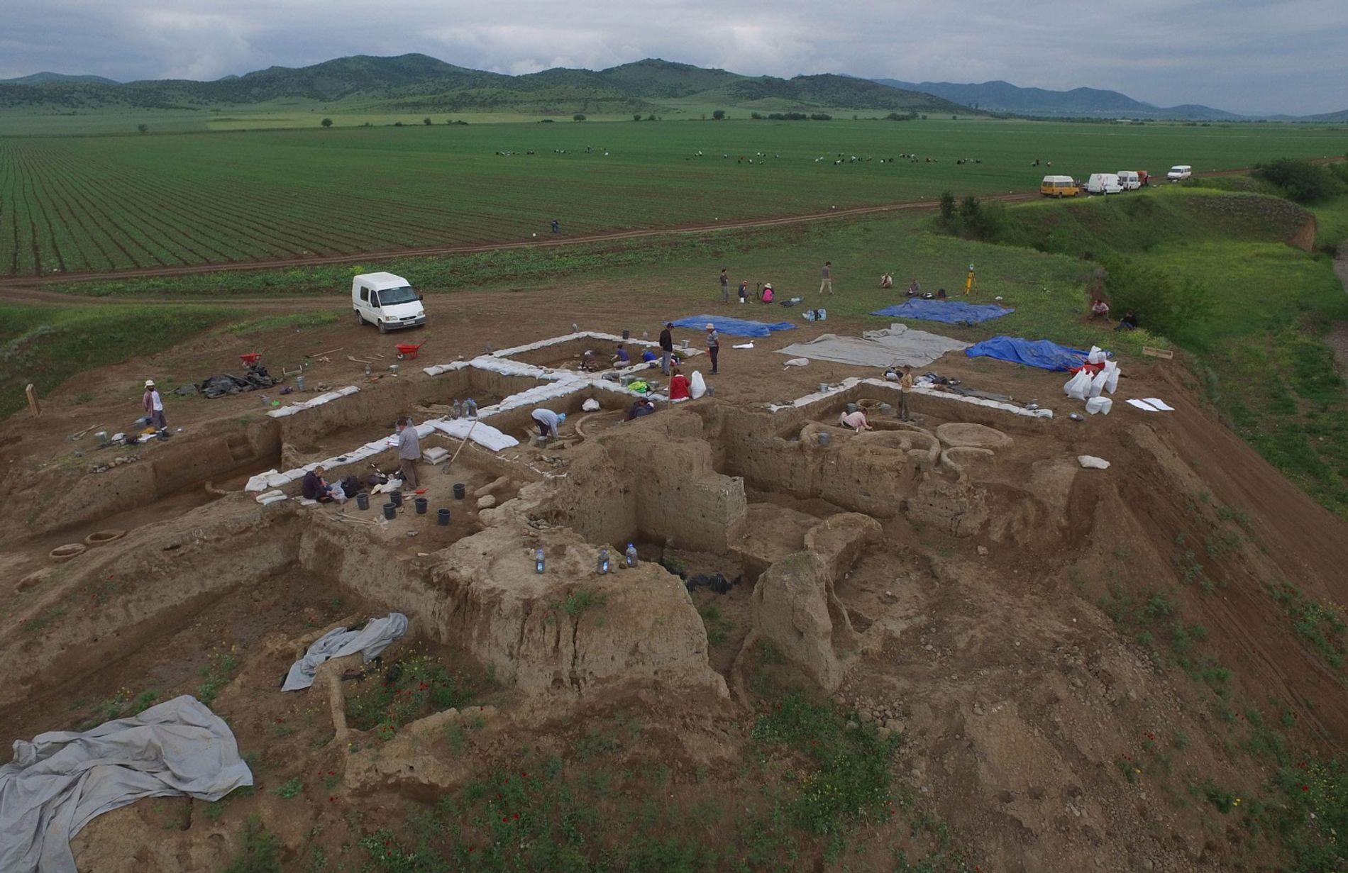 Excavaciones en Georgia