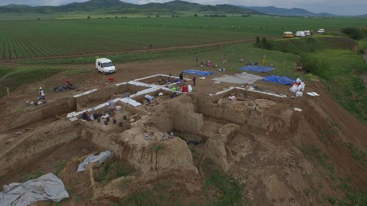 Halladas las pruebas más antiguas de vinificación en una aldea de la Edad de Piedra
