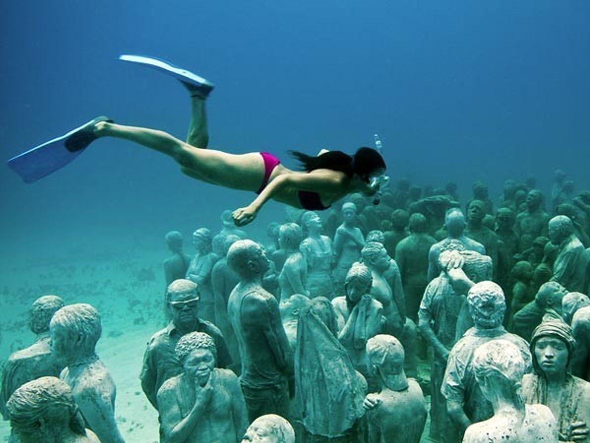 Esculturas bajo el mar, ¿cuál es su misión?
