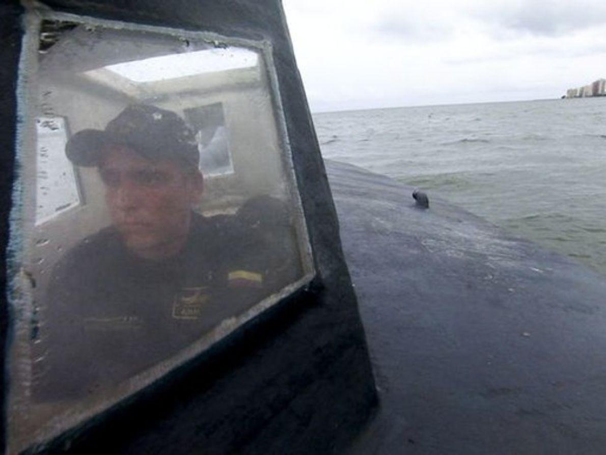 Submarino en acción