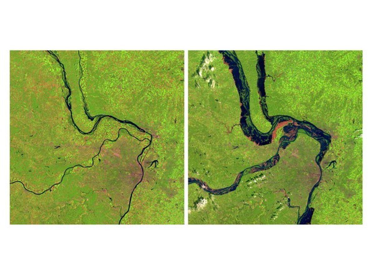 Inundación en el Mississippi