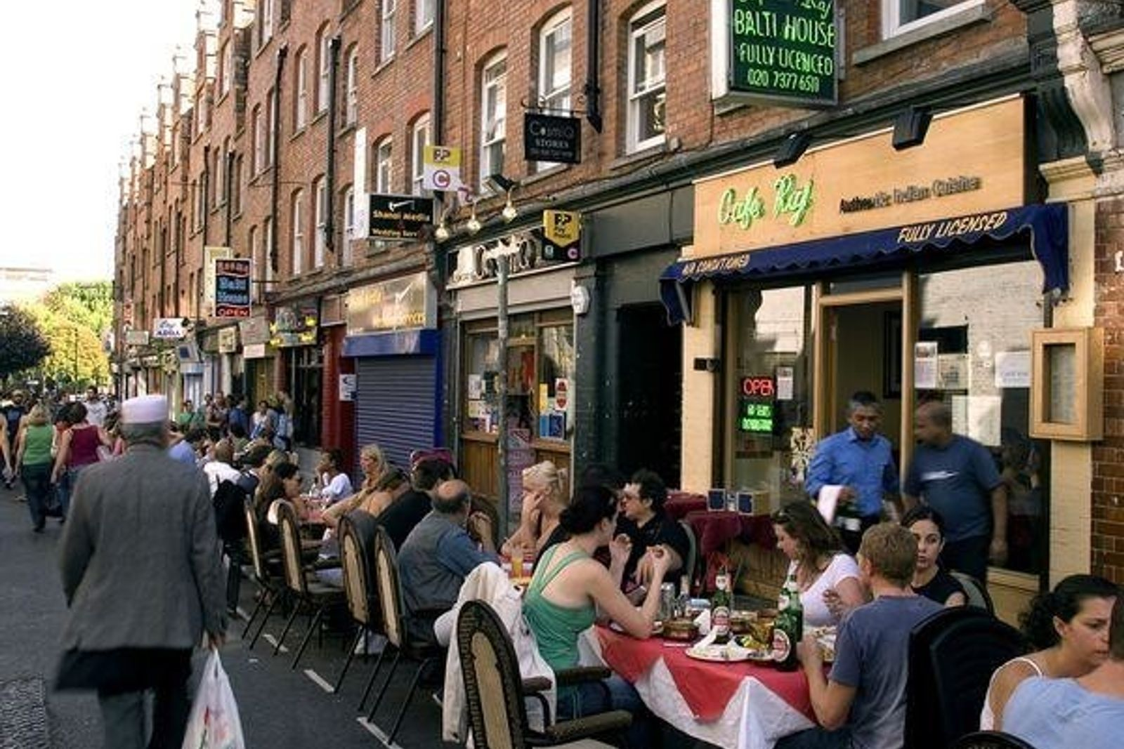 Carnaby Street, Londres.