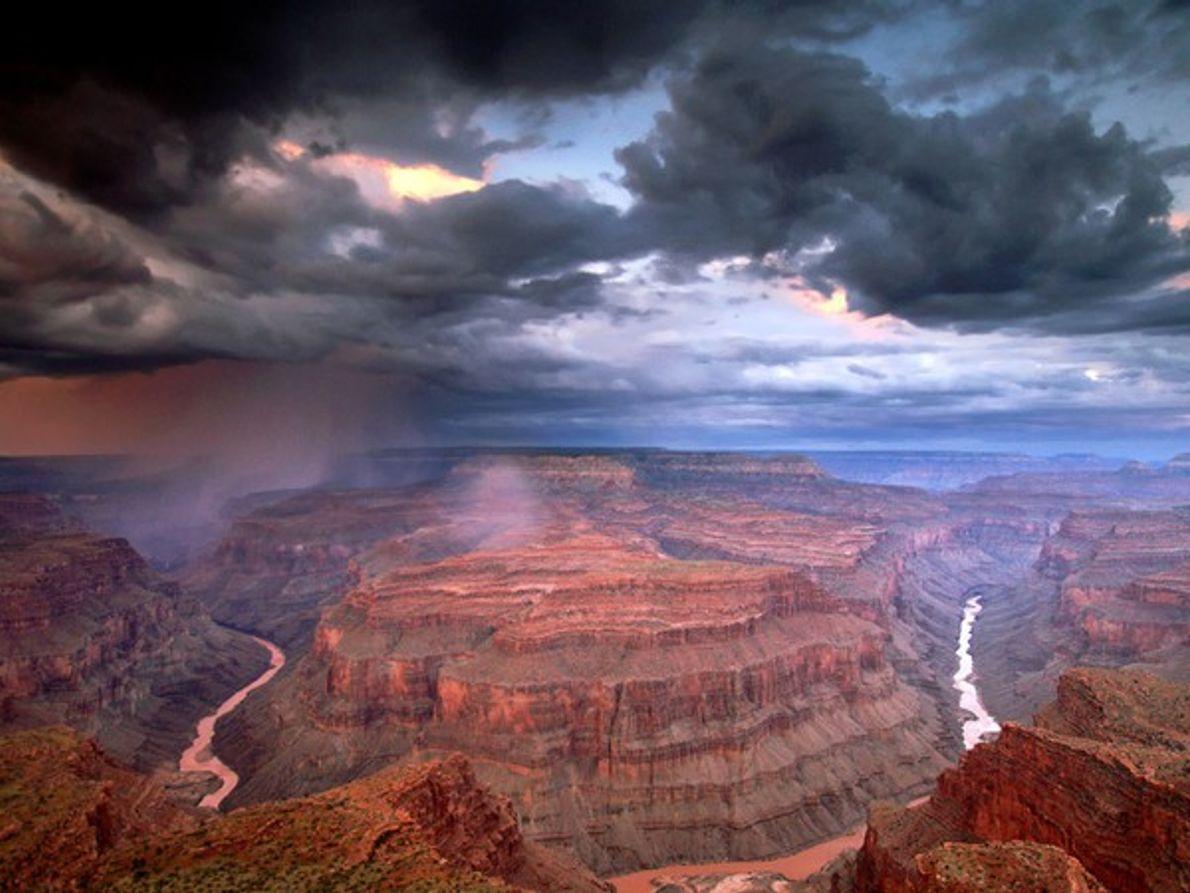 Vista aérea Gran Cañón