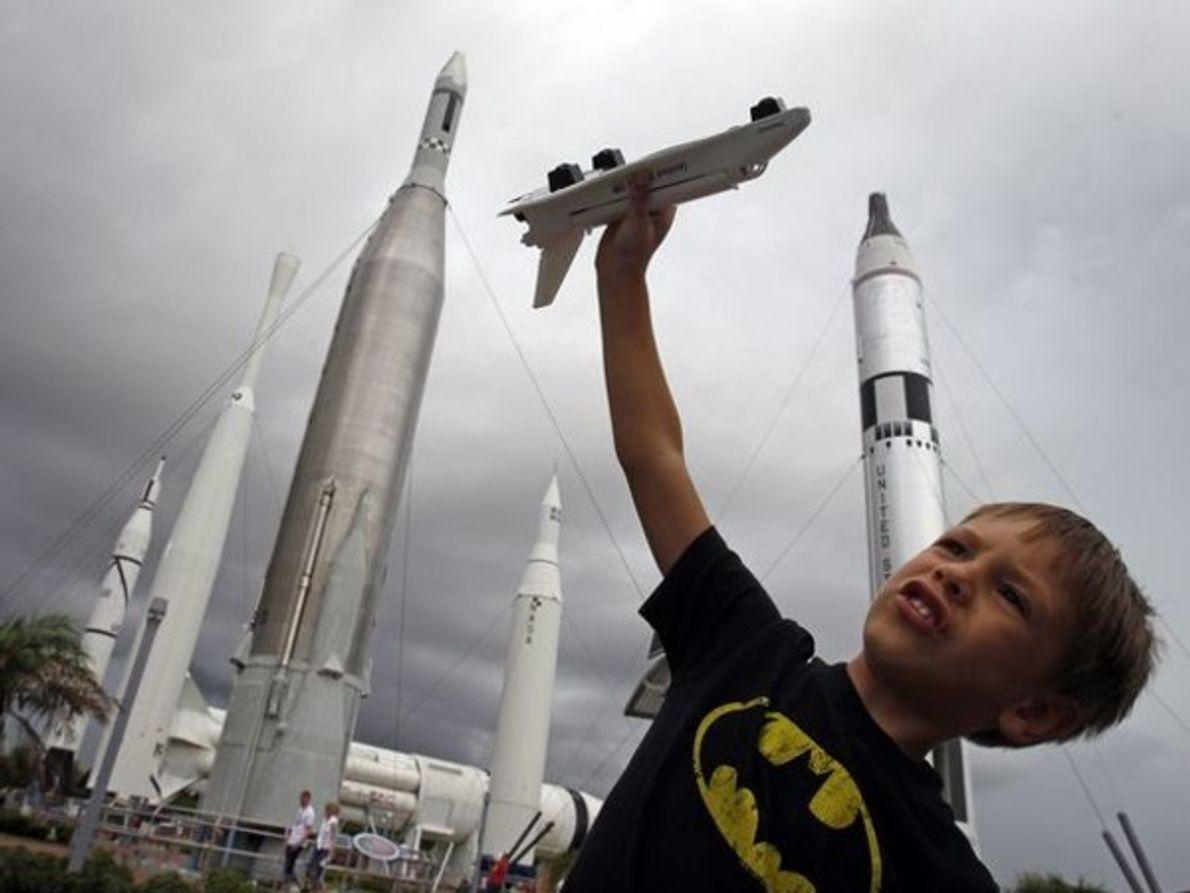 ¿Futuro astronauta?