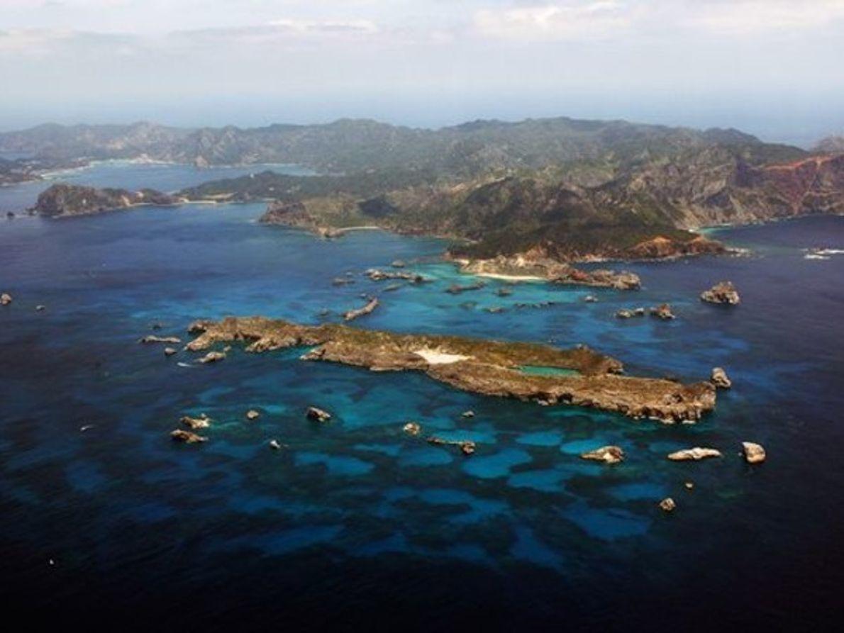 Nuevo enclave: Las Islas Ogasawara