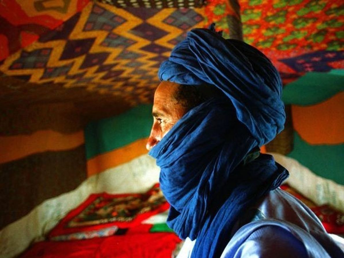 Hombre Tuareg, Mali