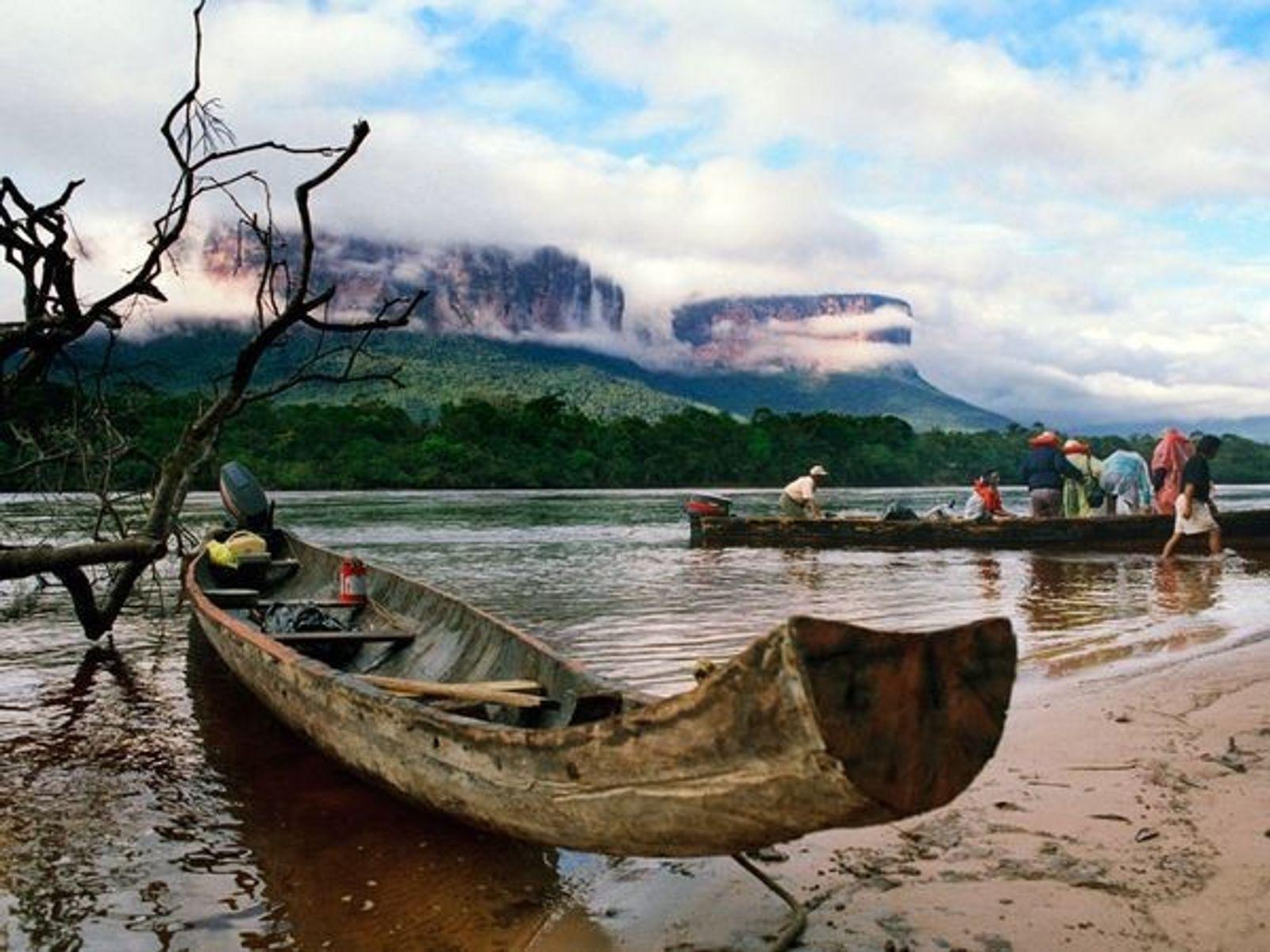 Barcas del río Orinoco