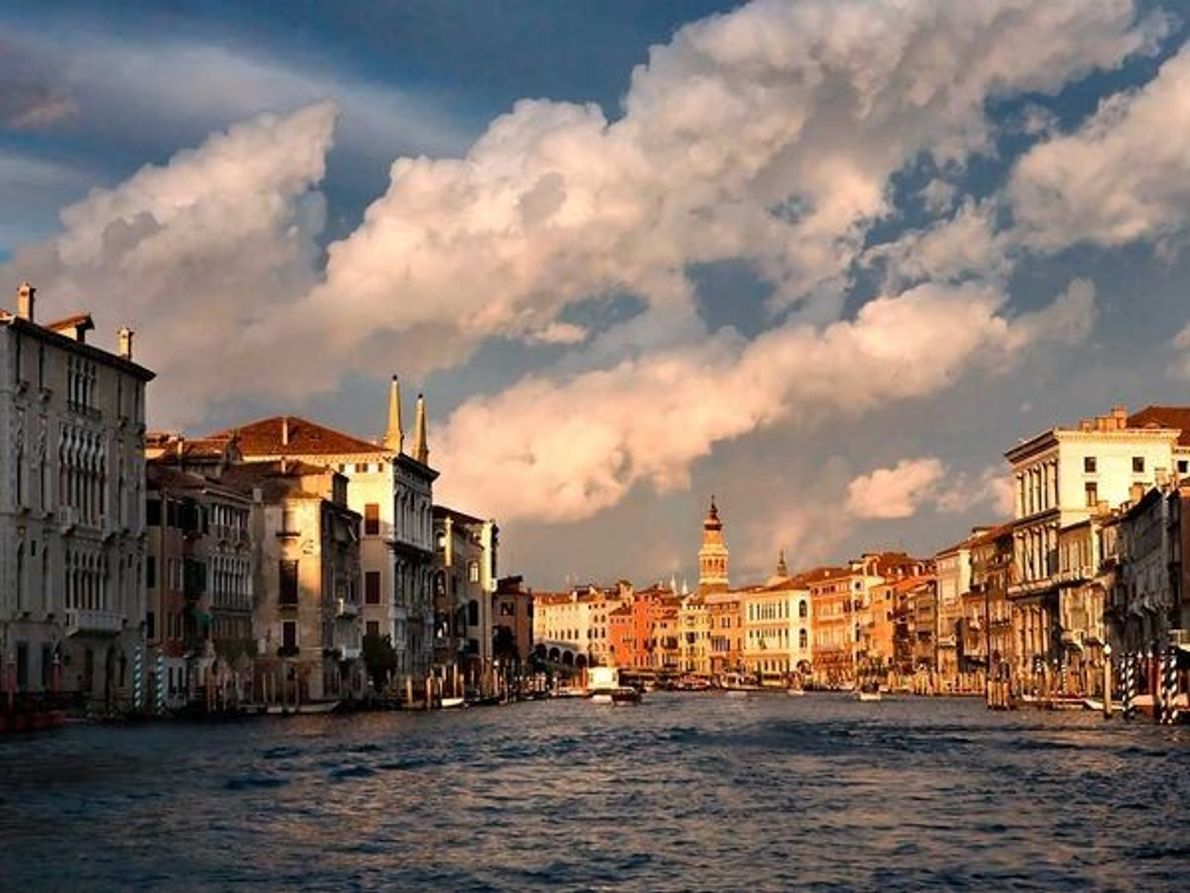 Ciudades con barcos