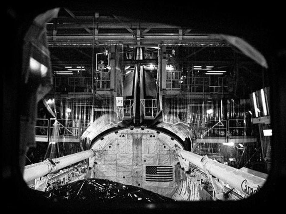 Imágenes nunca vistas del transbordador espacial