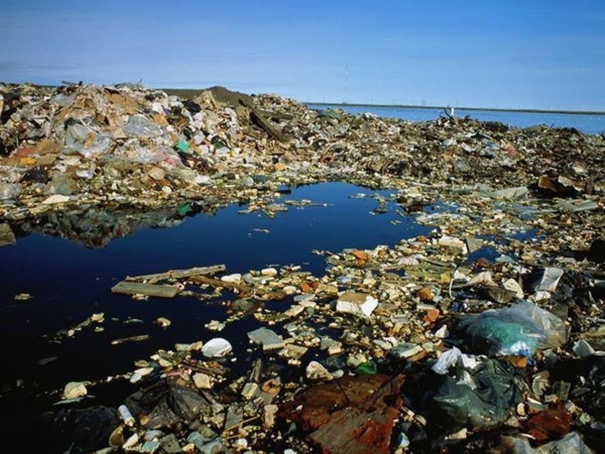 Vertedero de basura, Alaska