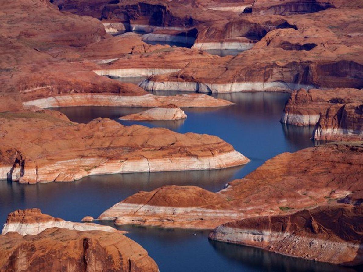 Río Colorado en el Lago Powell, Arizona