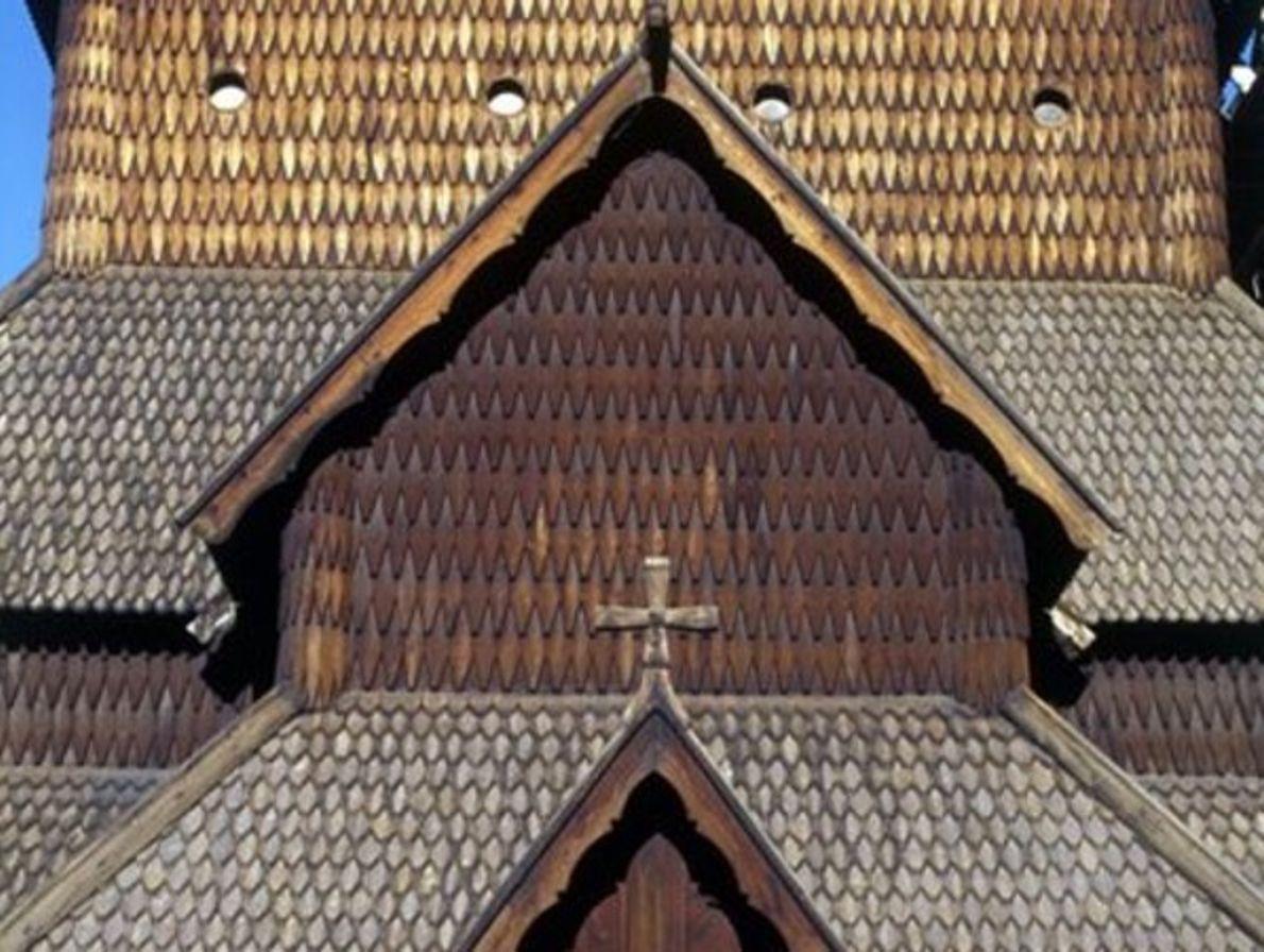 Iglesia de madera, Heddal
