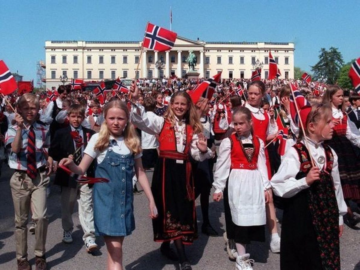Desfile de los niños, Oslo
