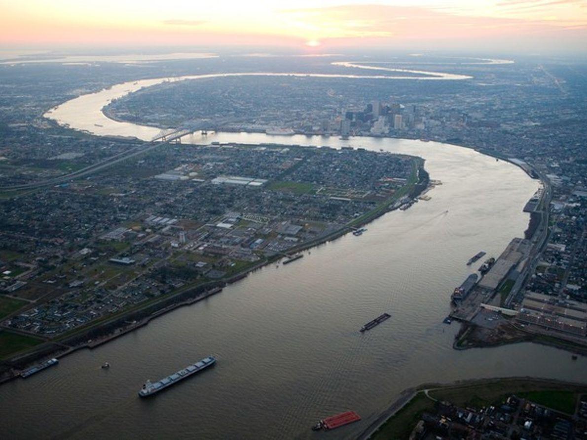 Río Mississippi, Nueva Orleans