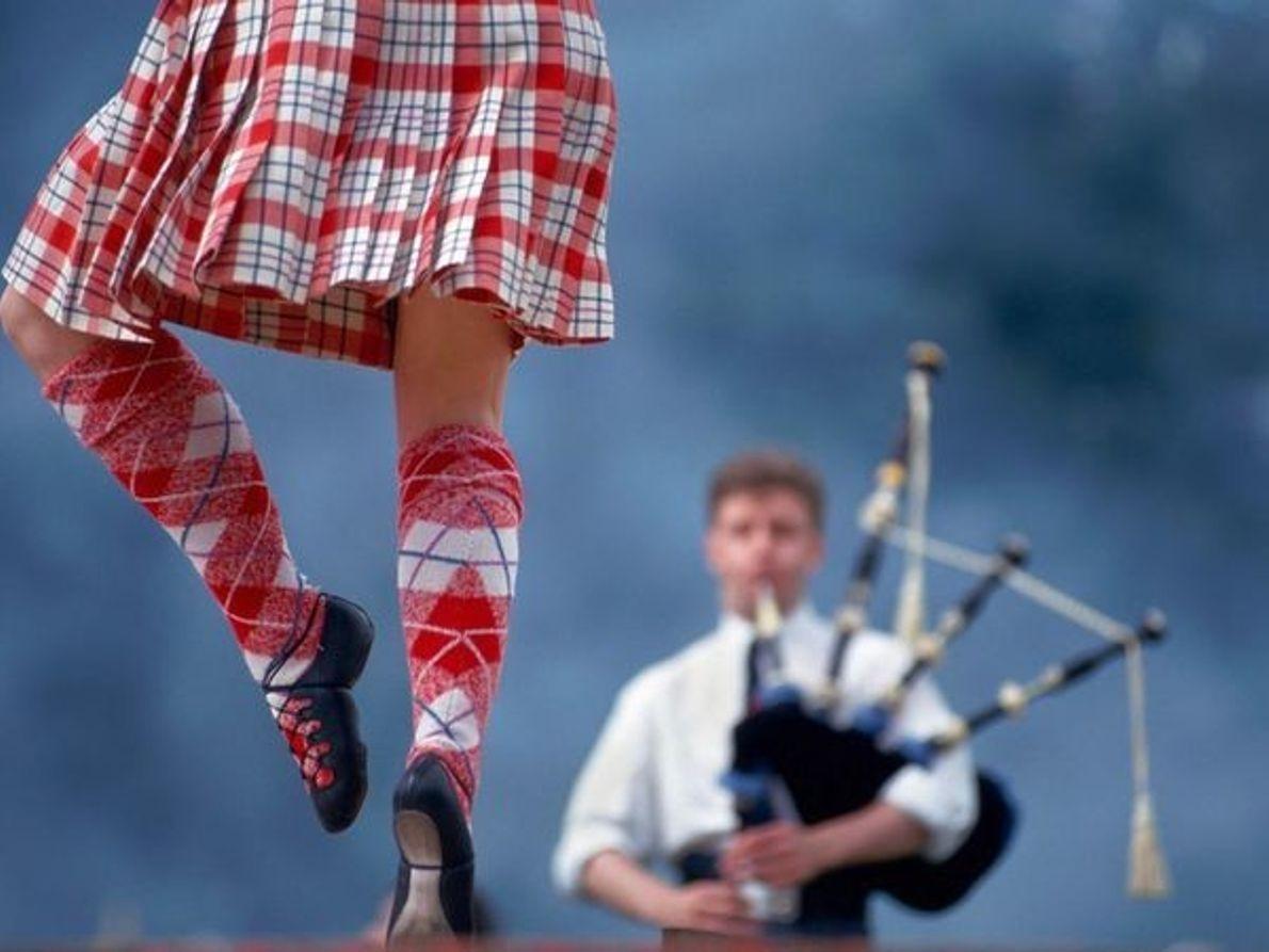 Bailarín Highland