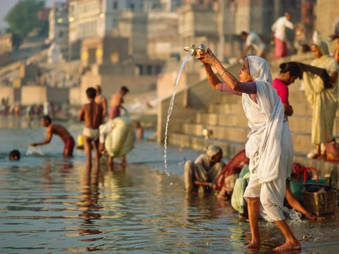 Río Ganges, India