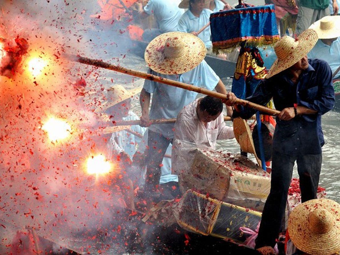 Festival Dragon Boat, China