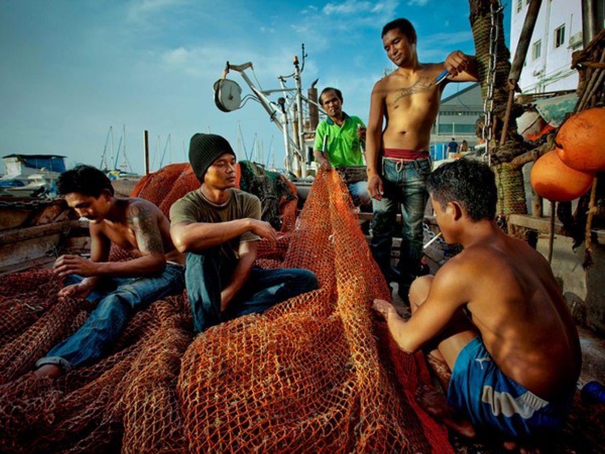 Pescadores, Tailandia