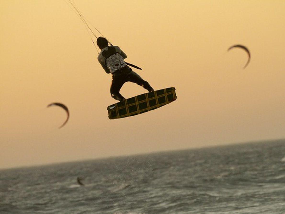 Kite Surfer, Sudáfrica