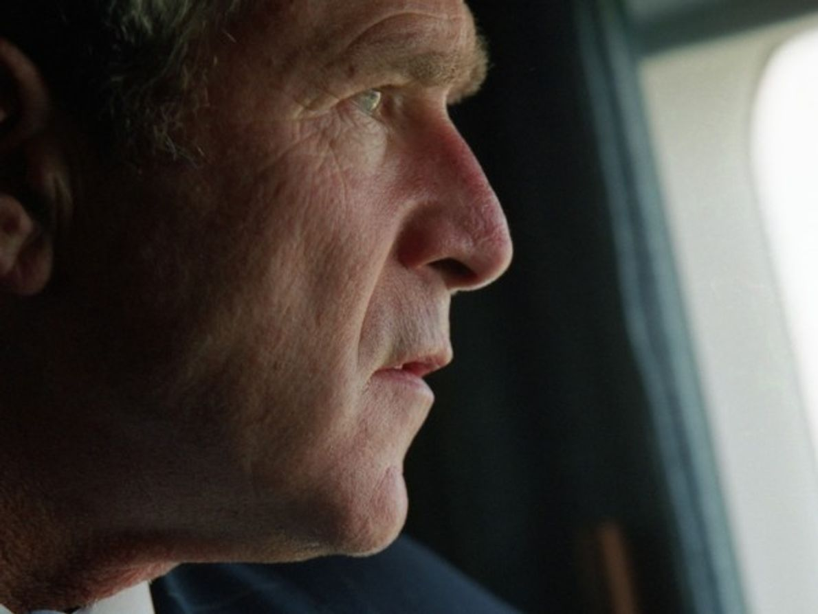 George W. Bush, habla