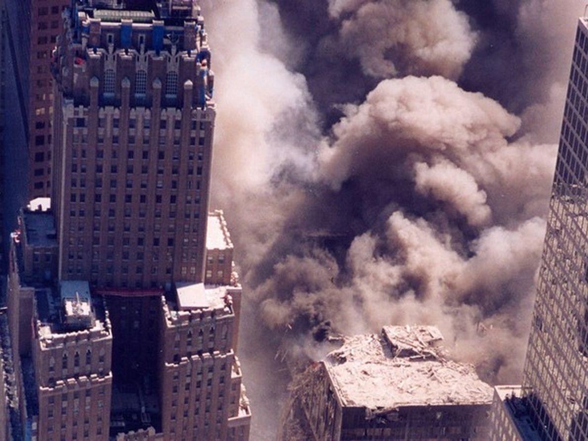 El colapso de las Torres Gemelas