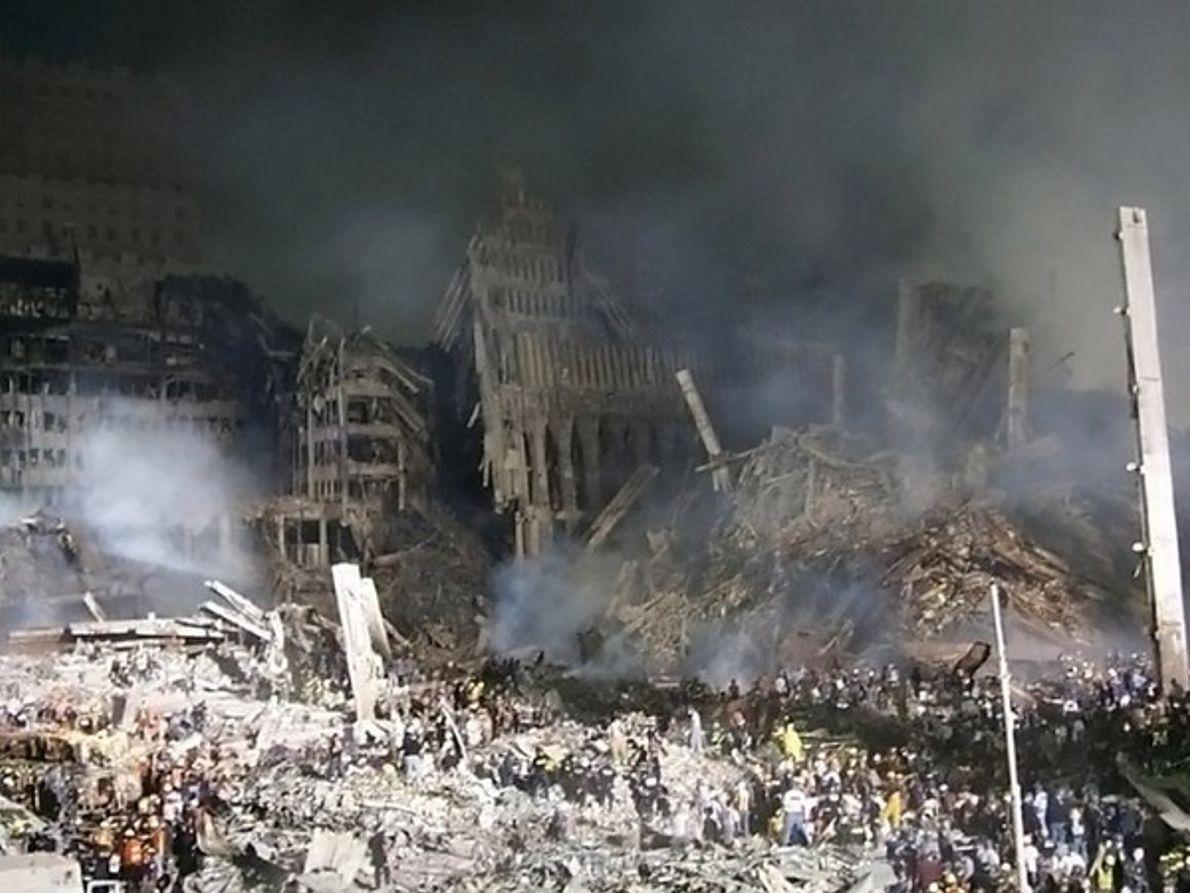 Zona 0 tras el atentado