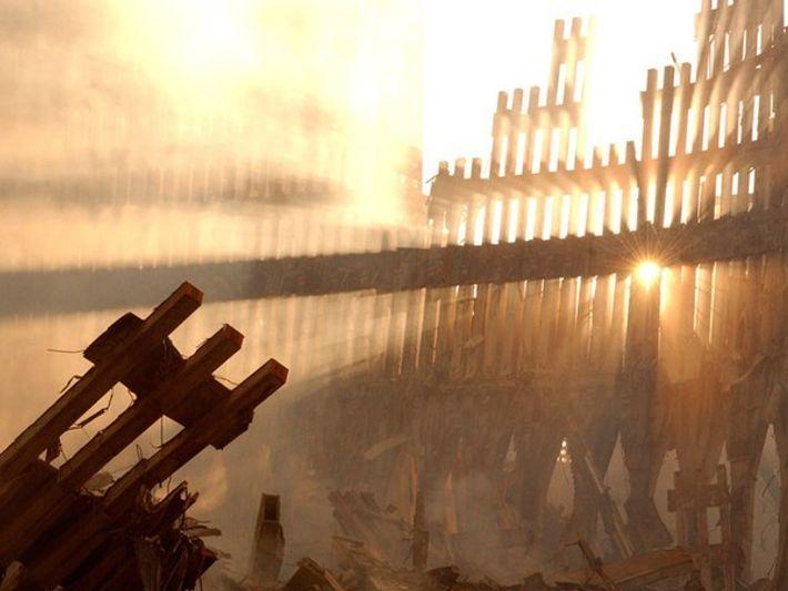 Restos del World Trade Center