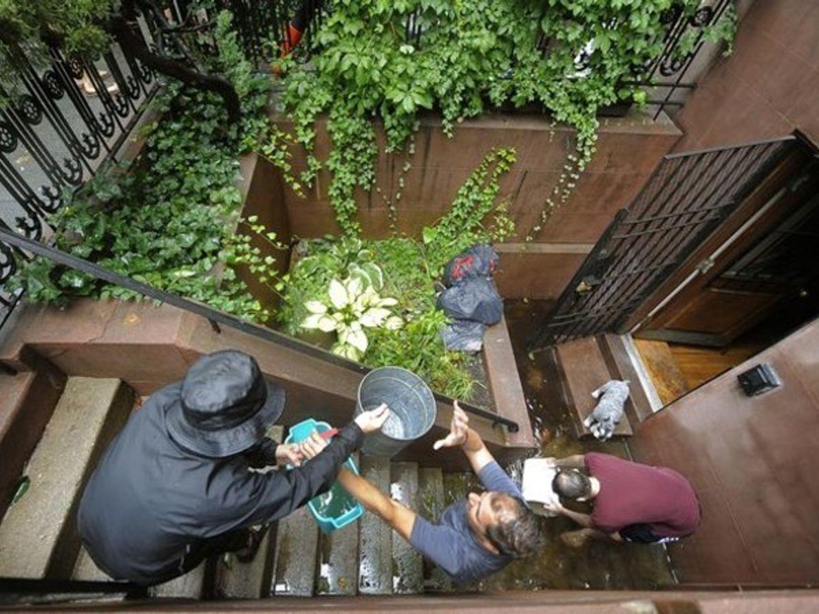 Inundaciones en NY