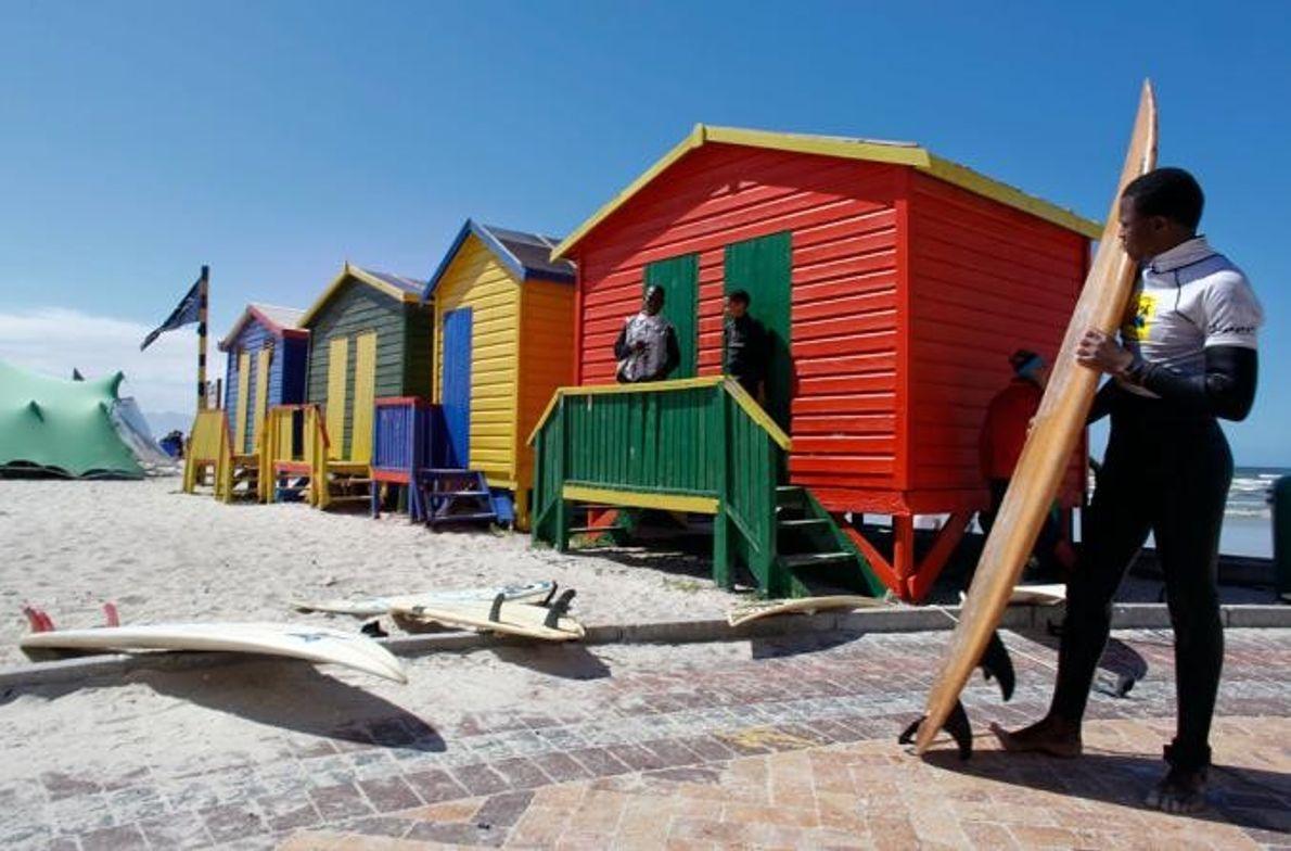 Muizenberg, Sudáfrica