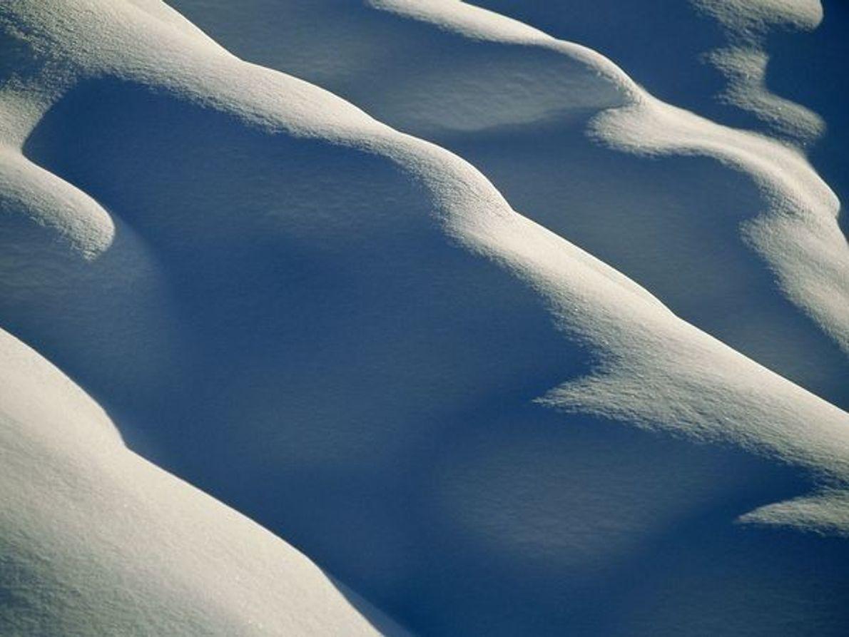 Colinas nevadas