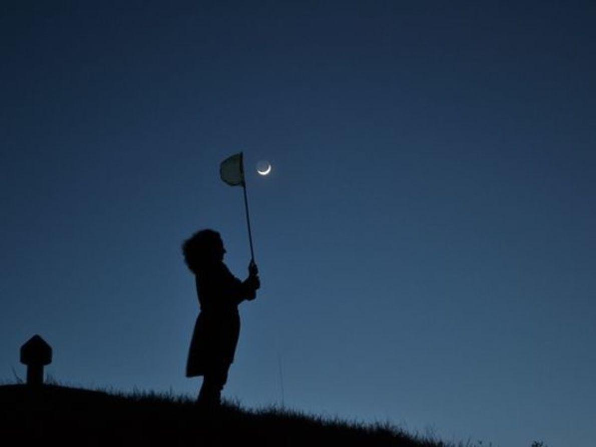 La luna creciente del 6 de abril ofreció a Jean-Baptiste Feldmann de Francia la oportunidad perfecta …