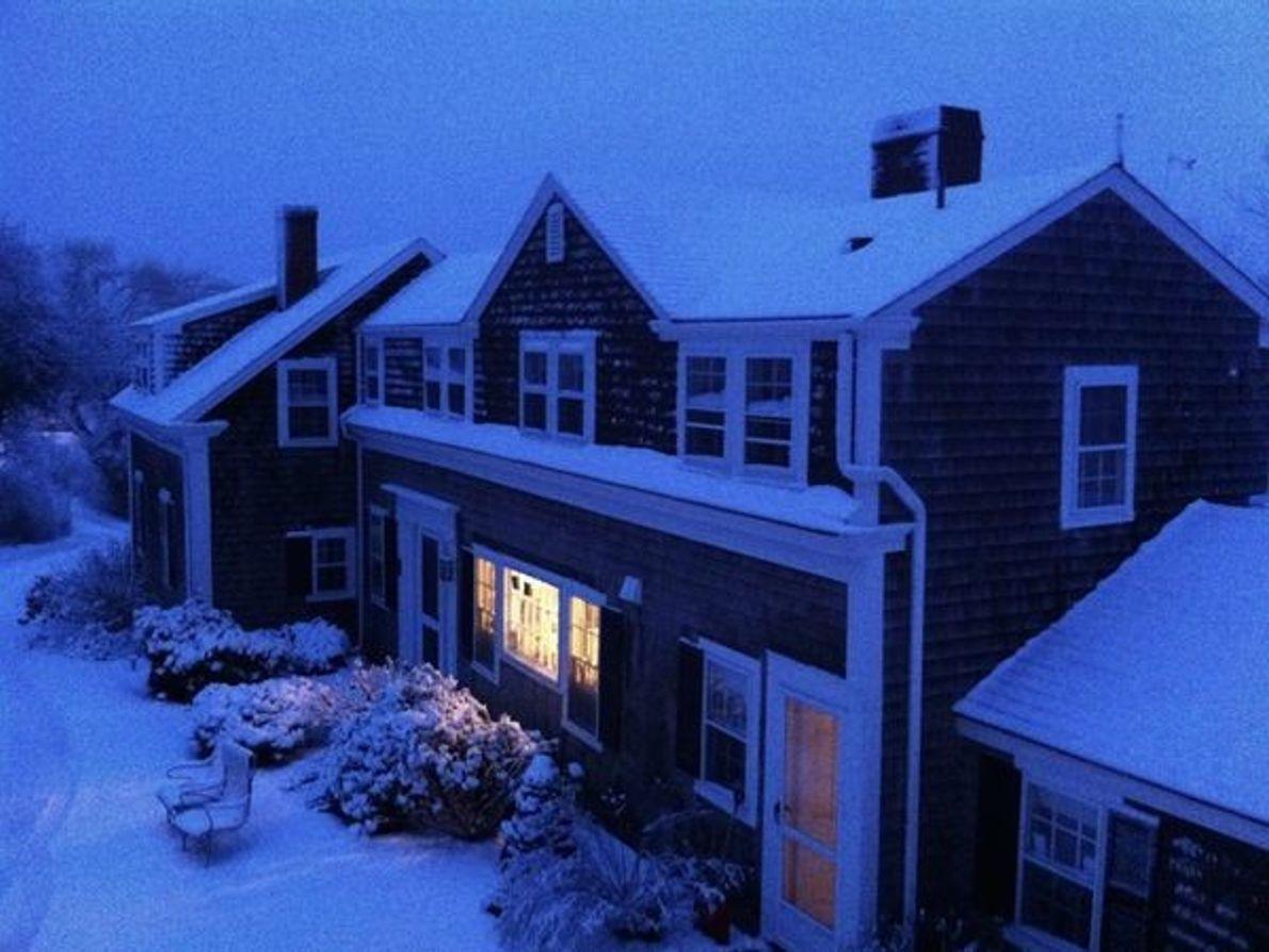 Invierno, Cape Cod