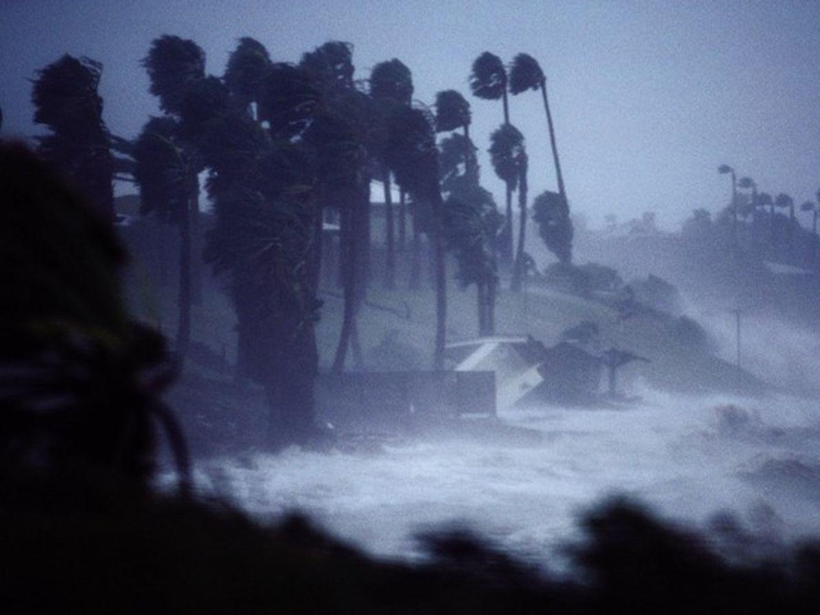 Huracán Allen, Tejas