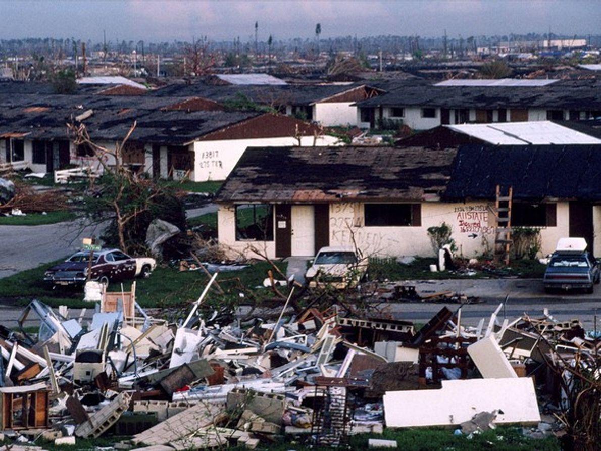 Huracán Andrew, Florida