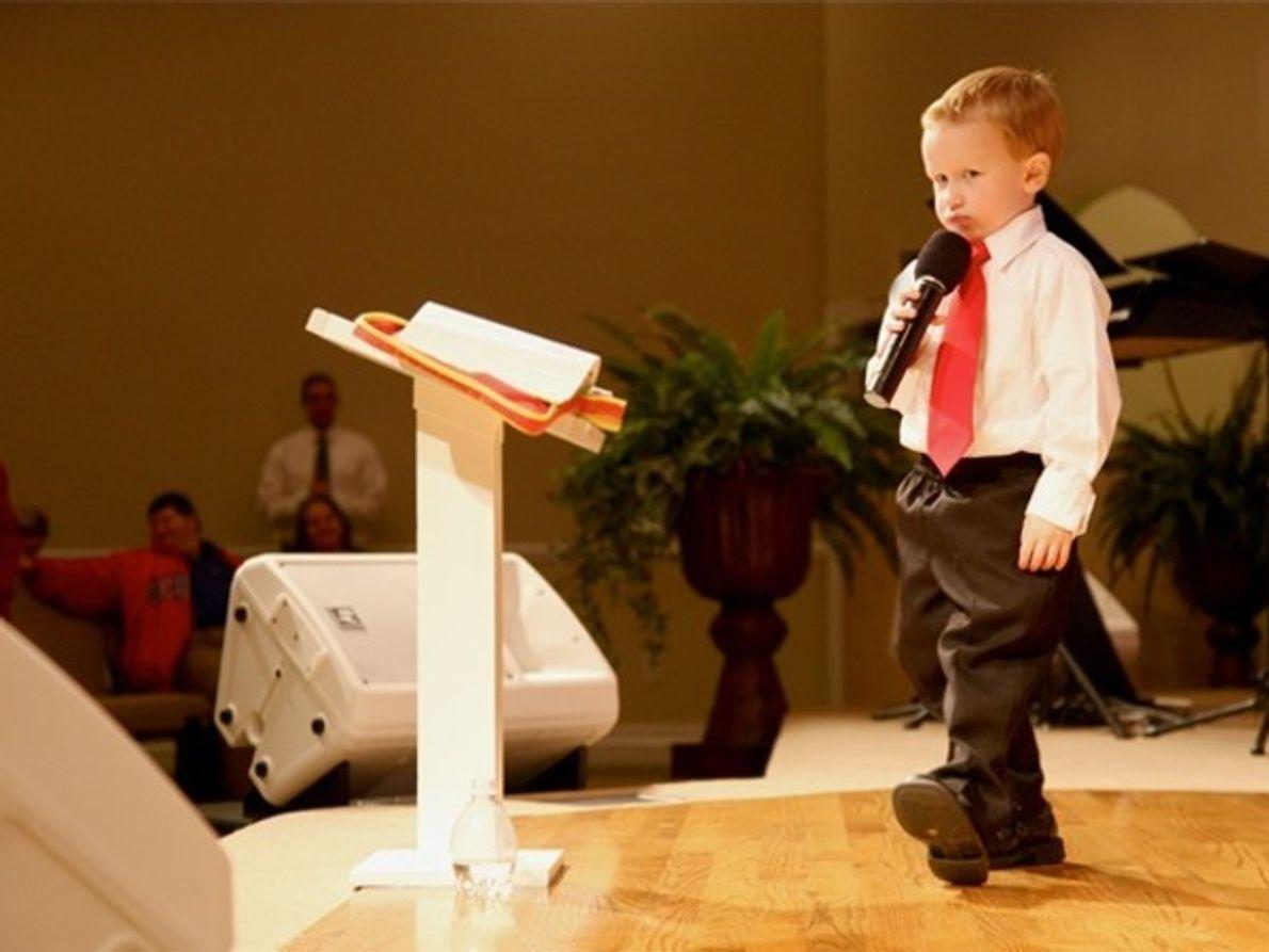 El predicador más joven
