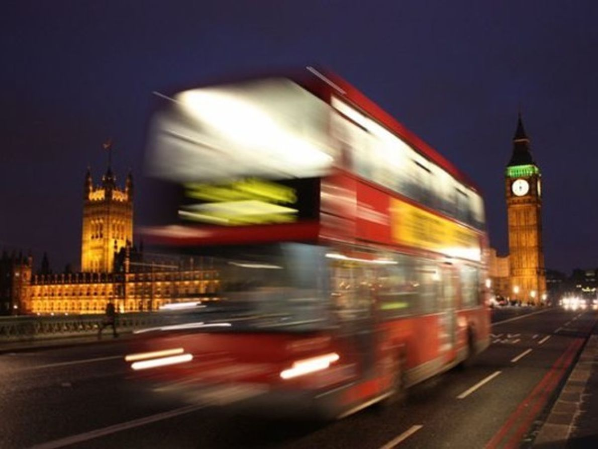 Autobús de dos pisos, Londres