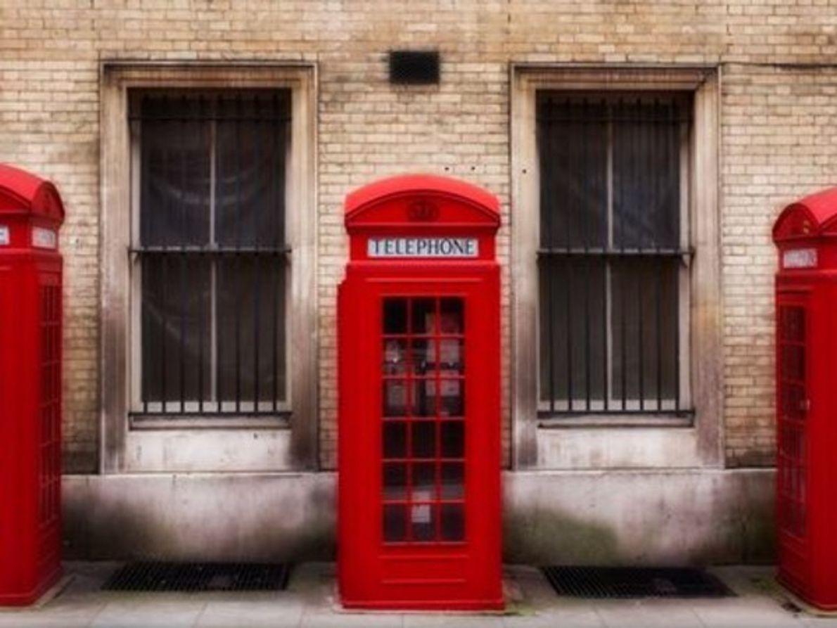 Cabinas telefónicas, Londres
