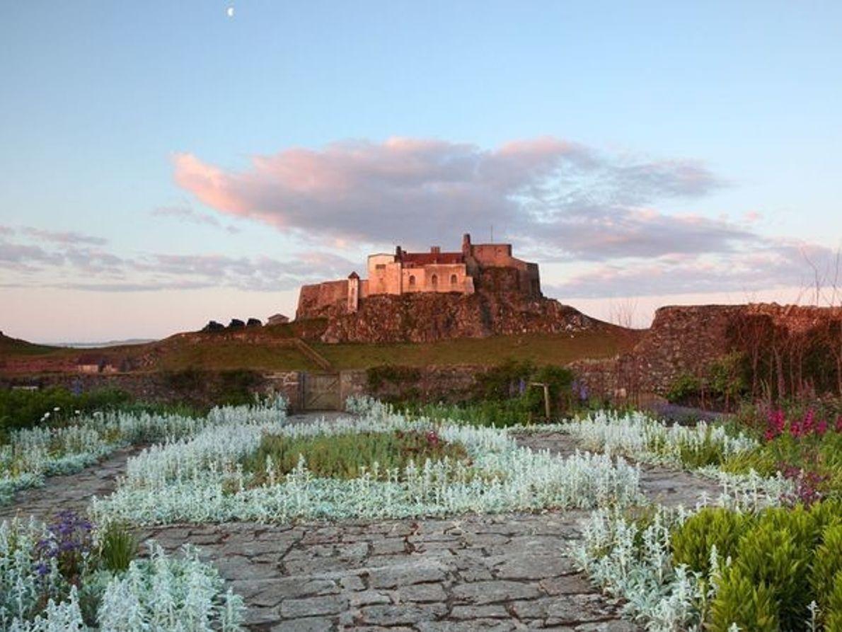 Castillo de Lindisfarne, Holy Island