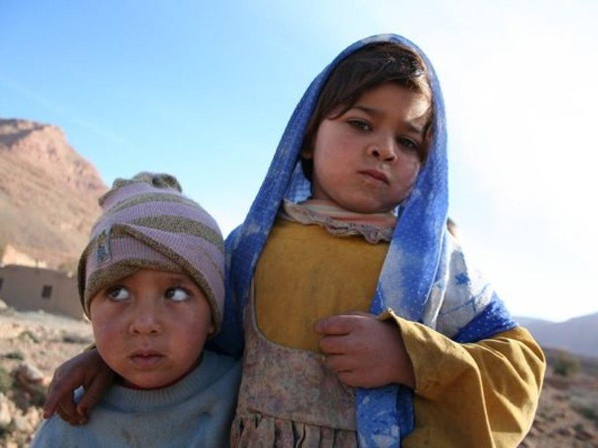 Niños, Marruecos
