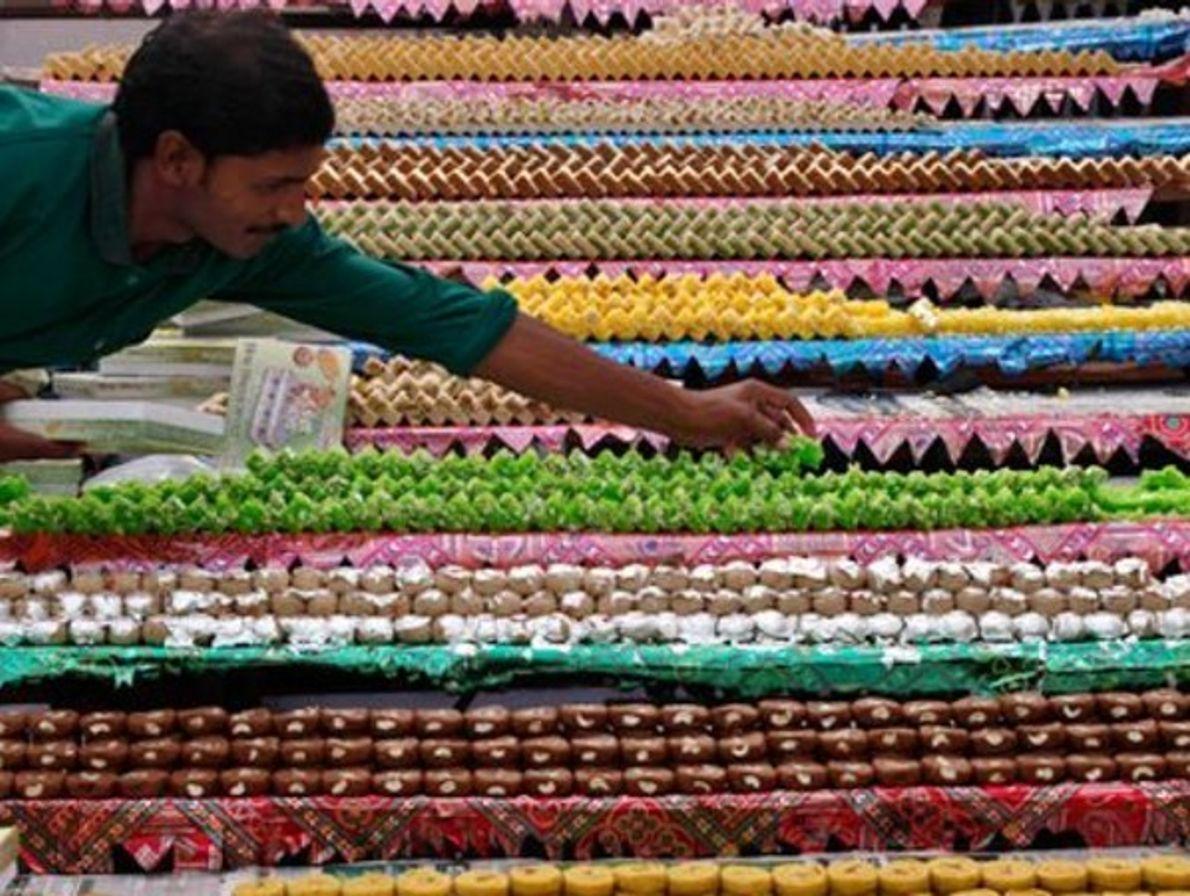 Besan BurfiIndia de Diwali