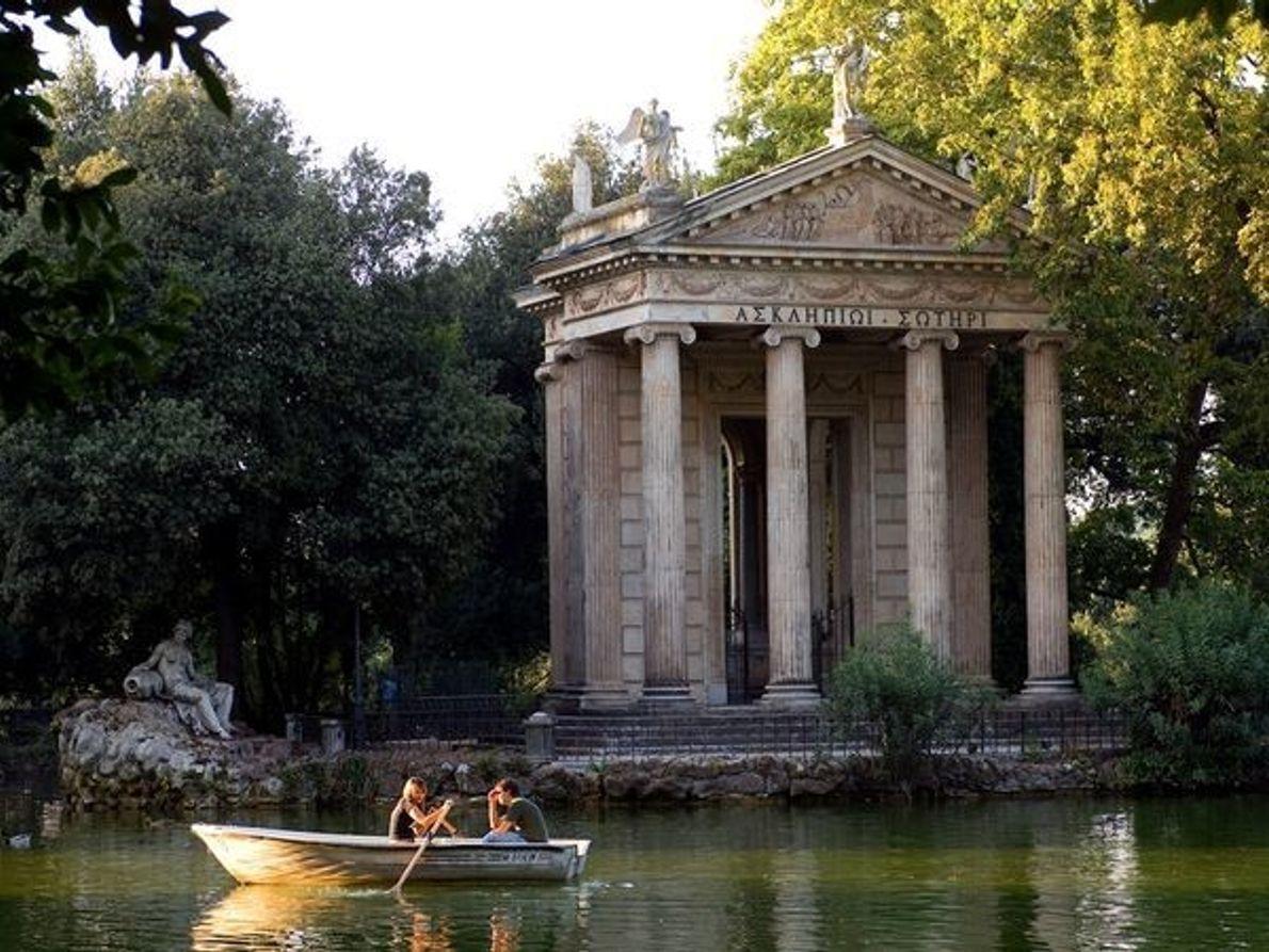 Jardines de Villa Borghese, Roma, Italia