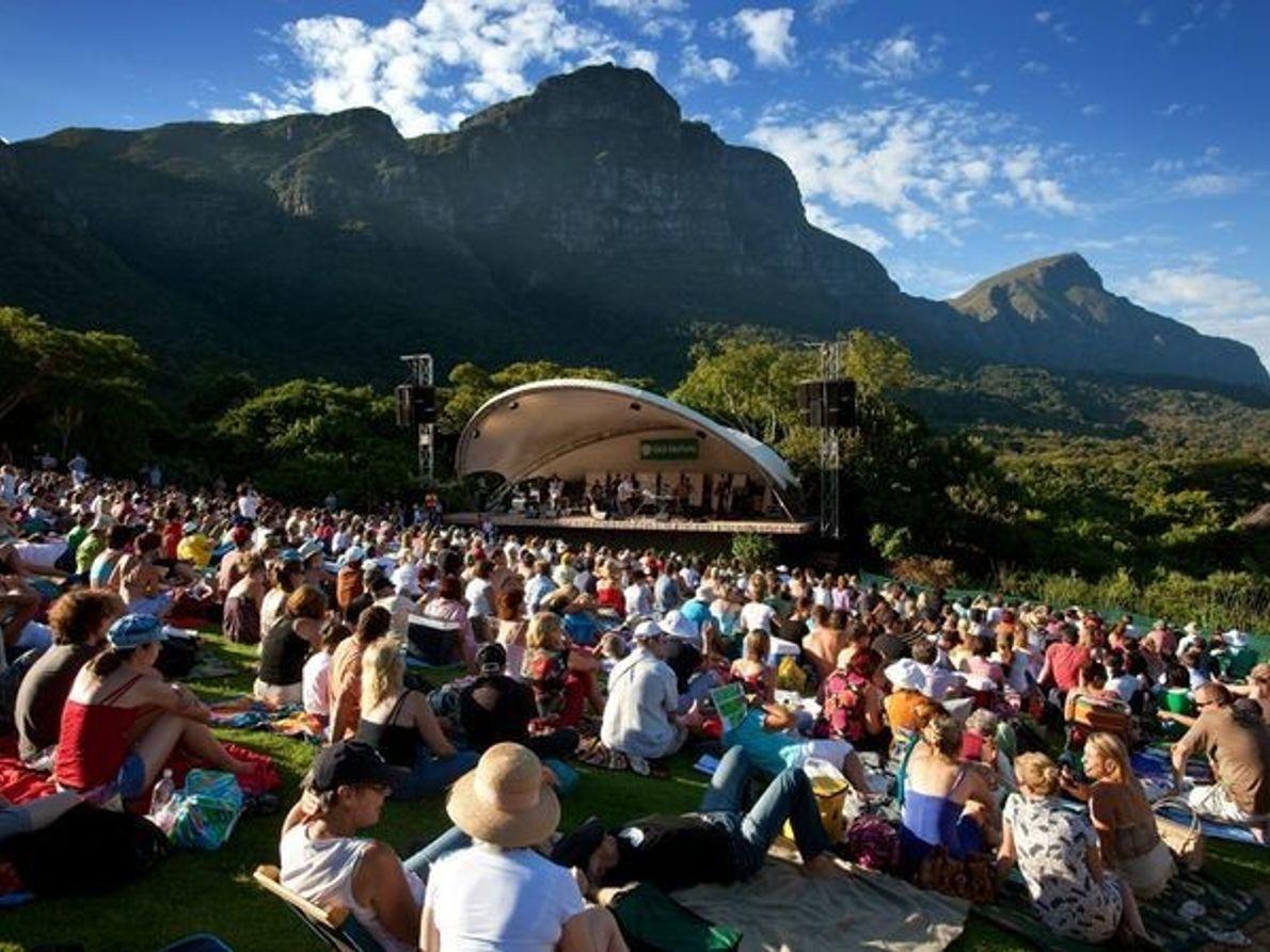 Jardín Kirstenbosch Botanical, Cabo Occidental, Sudáfrica