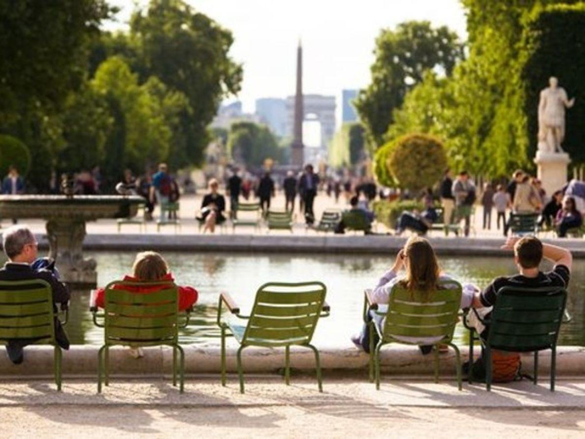 Jardin des Tuileries, París, Francia