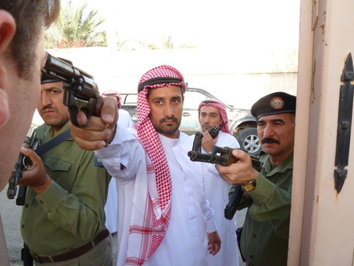 Alcohol de contrabando en Arabia