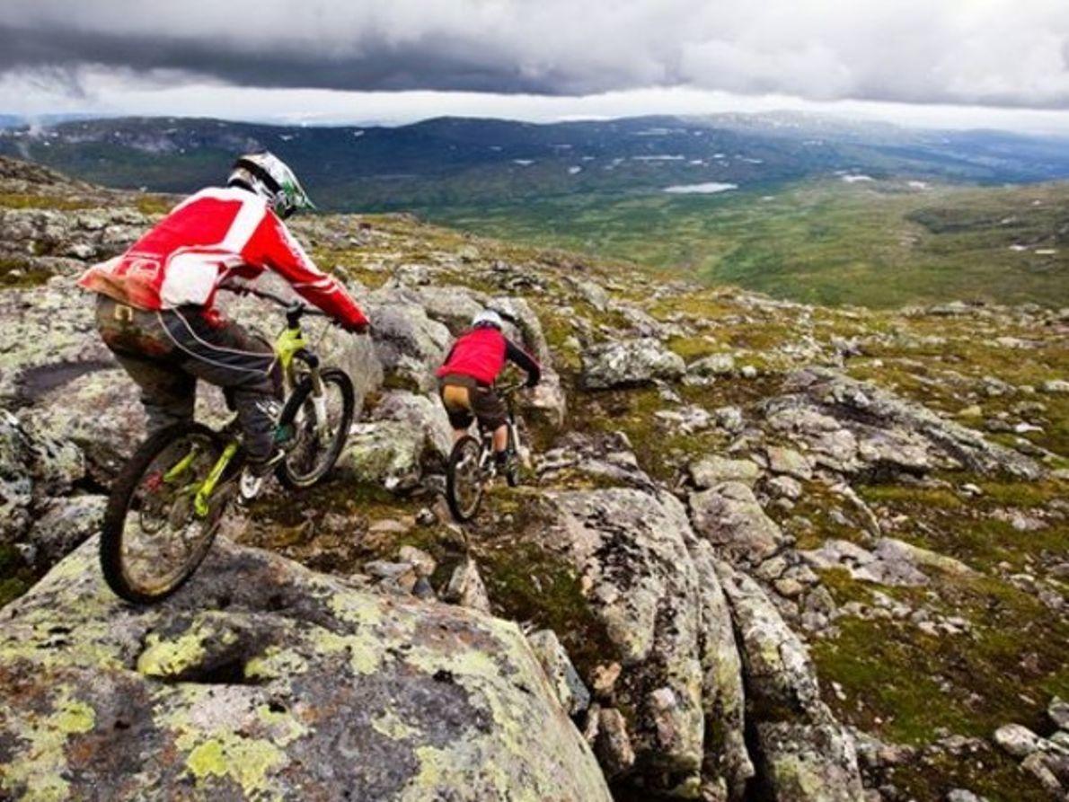 Ciclismo de Montaña, Jämtland, Suecia