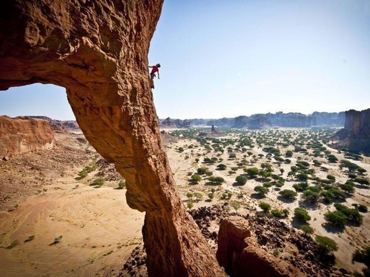 Arco de Bishekele, Ennedi, el Chad