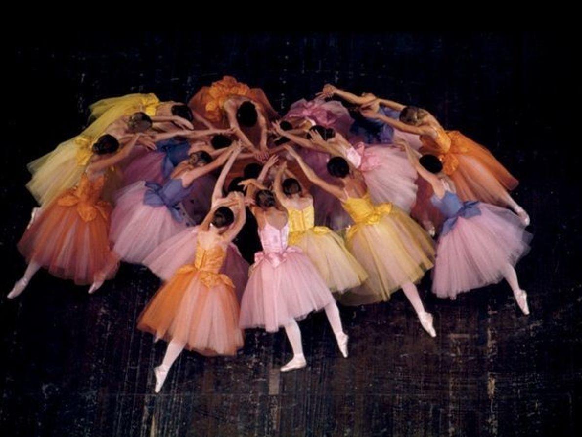 Bailarines de ballet, California