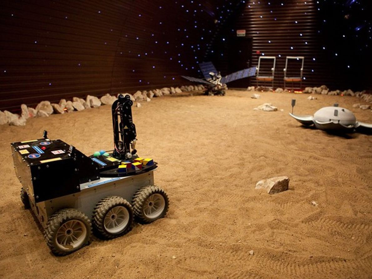 Red Planet Rover