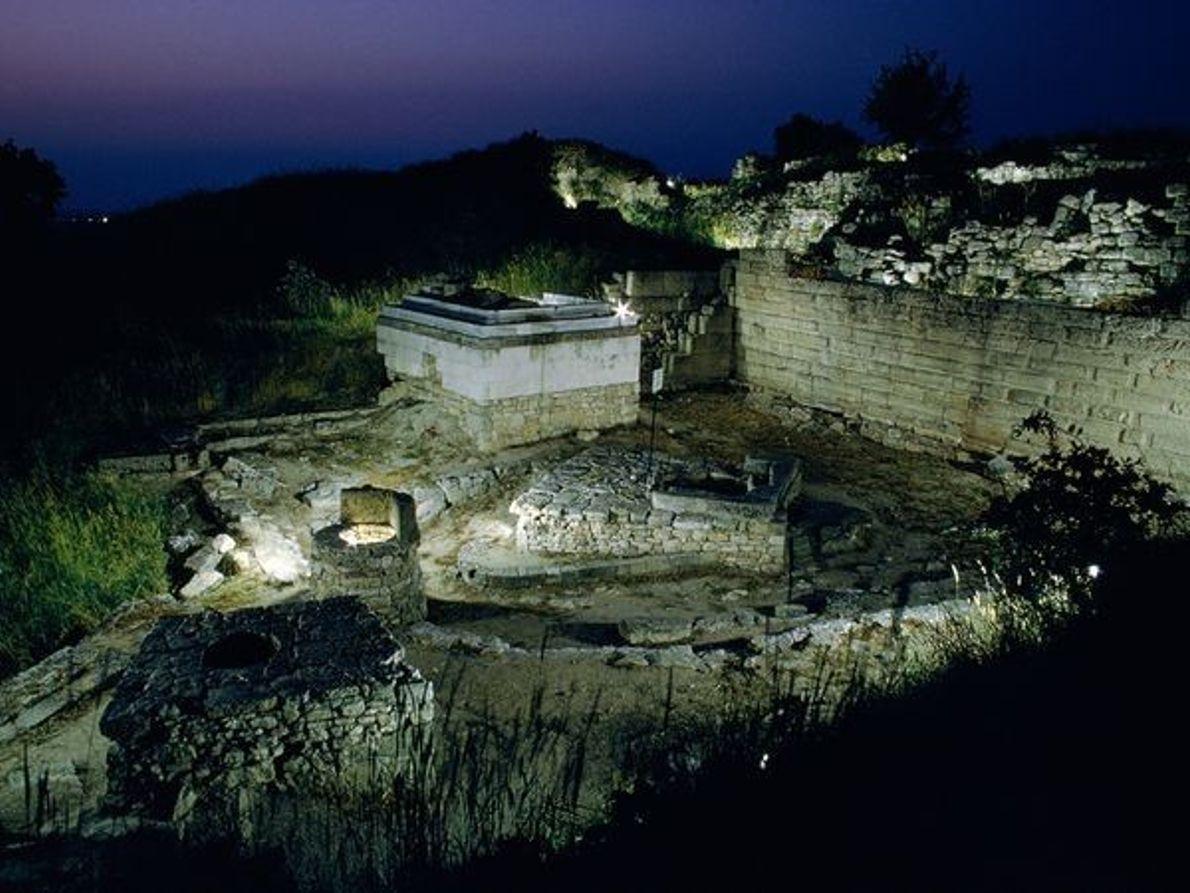 La antigua Troya